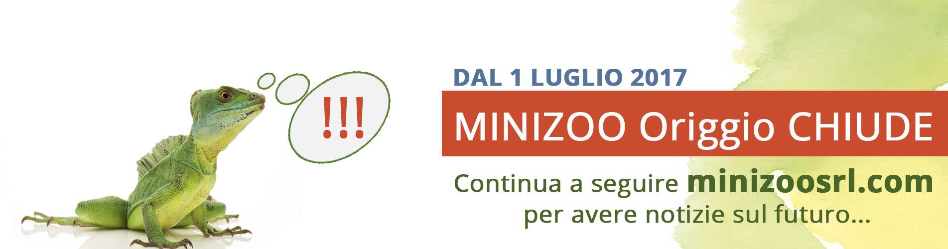 Minizoo-Origgio-Chiude